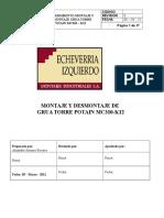 Proc  Montaje y Desmontaje Potain MC310-K12.doc