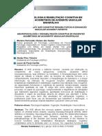 Neuropsicologia e Reabilitação Cognitiva Em Pacientes Acometidos de Acidente Vascular Encefálico