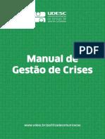 Manual de Gestao de Crises UDESC