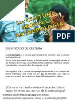 La Cultura Según La Antropología