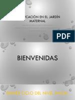 La Educación en El Jardín Maternal.pptx · Versión 1