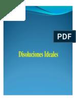 disoluciones ideales