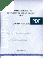 Prueba Metalurgica Santa Rosa