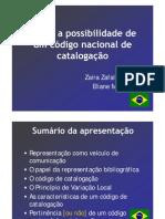 RDA e a possibilidade de um código brasileiro de catalogação