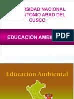Educación Ambiental -Clases 2018 i