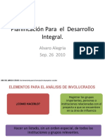3. Marco Logico - Formualción de Problemas Objetovos Diagnostico