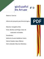 Reporte De Proyecto .