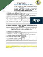 Ficha d Evaluación Taller Con Padres 15 Junio 2019