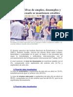 Cifras Empleo Desampleo Ecuador_2018