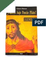 _padecio Bajo Poncio Pilato_ - Vittorio Messori.pdf