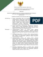 Sk Penetapan Kebutuhan Dan Formasi Asn 2019