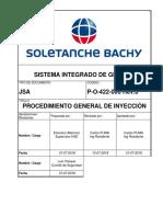 P-o-422-006 Procedimiento General de Inyección Rev 0