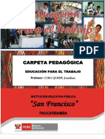 Caratula Carpeta Pedagogica Finall