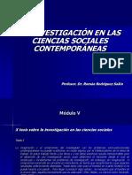 la investigación en las ciencias sociales contemporáneas