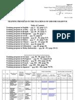Training Program on the Teachings of Grigori Grabovoi En