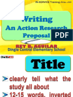 Writing an Action Research