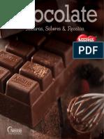 Receituario Chocolate 2015 - Texturas, Sabores e Receitas