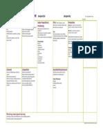 The Marketing Plan Canvas