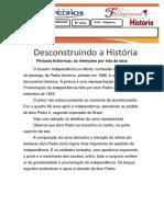 Desconstruindo a história (Independencia do Brasil).docx