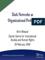 Dark Networks. SLIDES