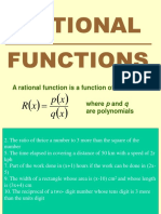 Rational functions ppt