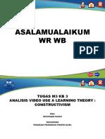 M3 KB 3 Analisis Video Teori Konstruktivisme-Mustaqim Hasan.pptx