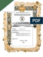 Trabajo de Contratos II - Arrendamiento Finalizado