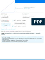 E-tiket Penerbangan