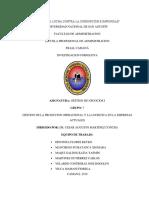 Gestion de La Producion Operacional y Logistica