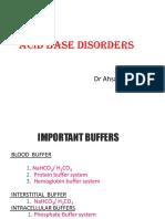 Acidosis & Alkalosis
