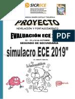 ECE SIMULACRO 02 - MATEMÁTICA 2° GRADO 2019