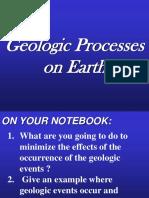 10. Geologic Processes on Earth