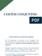 Sistemas de Costeo 05 Costos Conjuntos