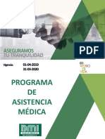 Programa de asistencia Medica