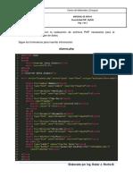 Material de apoyo PHP MySQL