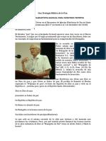 Una Teologia Biblica de La Paz Juan Driver