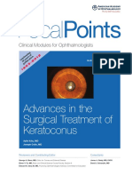 Advances in the Surgical Treatment of Keratoconus