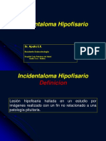 Incidentaloma Hipofisario