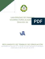 Reglamento de trabajo de graduacion