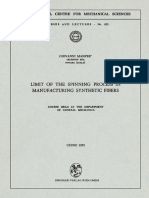 [International Centre for Mechanical Sciences 255] Giovanni Manfré (auth.) - Limit of the Spinning Process in Manufacturing Synthetic Fibers_ Course Held at the Department of General Mechanics (1975, S.pdf