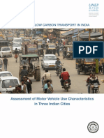 Assessment of Motor Vehicle Use Final