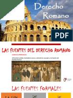 02. Segunda Semana - Derecho Romano