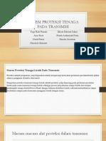 Sistem Proteksi Tenaga Pada Transmisi