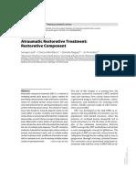 Atraumatic Restorative Treatment