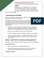 HANA Quality Management (QM) - Overview.docx