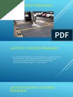 Presentacion Concreto Permeable