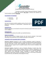 BEL Recruitment Notice 16 06