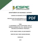 LA SEGURIDAD Y SALUD OCUPACIONAL PARA EMPRESA INCINEROX.pdf