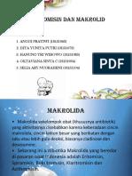 Eritromisin Dan Makrolid Ppt
