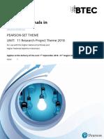 Pearson Set Theme 2018 19 Unit 11